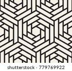 vector seamless pattern. modern ...   Shutterstock .eps vector #779769922