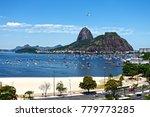 city of rio de janeiro  main... | Shutterstock . vector #779773285
