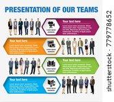 presentation of teams. design... | Shutterstock .eps vector #779778652