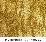 background with golden shine | Shutterstock . vector #779788312