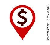 dollar money icon | Shutterstock .eps vector #779790568