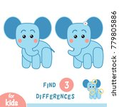 find differences  education... | Shutterstock .eps vector #779805886