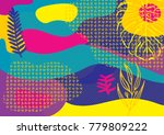 creative geometric colorful... | Shutterstock .eps vector #779809222