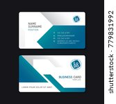 business card template design... | Shutterstock .eps vector #779831992