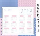 vector of 2018 new year...   Shutterstock .eps vector #779859982