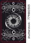 tarot cards   back design. the...   Shutterstock .eps vector #779883505