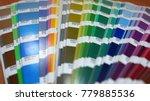 casablanca  morocco   december... | Shutterstock . vector #779885536