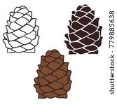 cones vector simple sign design ... | Shutterstock .eps vector #779885638