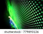 abstract led panel art  | Shutterstock . vector #779893126