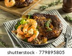 gourmet homemade steak and... | Shutterstock . vector #779895805