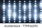 a wall of light projectors  a... | Shutterstock . vector #779916292