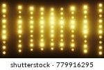 a wall of light projectors  a... | Shutterstock . vector #779916295