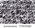 abstract grungy black and white ... | Shutterstock .eps vector #779925082