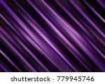 purple background with diagonal ... | Shutterstock . vector #779945746