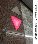 going down elevator arrow | Shutterstock . vector #779966215