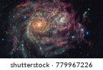 beautiful nebula  stars and... | Shutterstock . vector #779967226