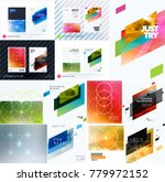 mega set of design of business... | Shutterstock .eps vector #779972152
