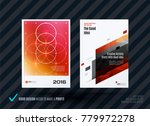 abstract design of business... | Shutterstock .eps vector #779972278