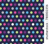 cute  trendy spot pattern....   Shutterstock .eps vector #780002356