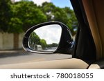 car rearview mirror | Shutterstock . vector #780018055