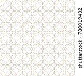 seamless geometric line pattern ... | Shutterstock .eps vector #780019432