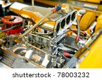 hot rod supercharger and engine ...