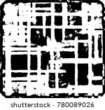 grunge black and white urban... | Shutterstock .eps vector #780089026