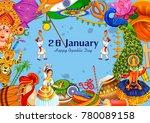 vector illustration of 26... | Shutterstock .eps vector #780089158