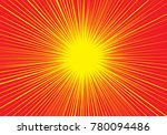 abstract radial zoom speed red...   Shutterstock .eps vector #780094486