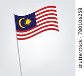 flag of malaysia   malaysia... | Shutterstock .eps vector #780106258
