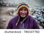 nomad's smile   the life of a... | Shutterstock . vector #780107782