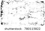 grunge black and white urban... | Shutterstock .eps vector #780115822