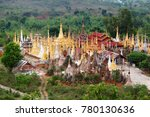 shwe inn thein paya  indein  ...   Shutterstock . vector #780130636