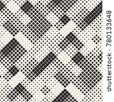 modern stylish halftone texture.... | Shutterstock .eps vector #780133648