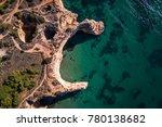 aerial view of the coastline in ...   Shutterstock . vector #780138682