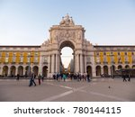 lisbon  portugal   november 7.... | Shutterstock . vector #780144115