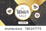premium luxury winter sale... | Shutterstock .eps vector #780147775