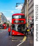 london  uk   circa june 2017 ... | Shutterstock . vector #780151222
