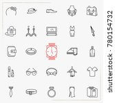 fashion line icons set | Shutterstock .eps vector #780154732