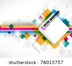 eps10 vector multicolor | Shutterstock .eps vector #78015757