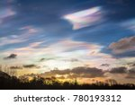 Nacreous Clouds Form In The Sk...