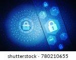 2d illustration safety concept  ... | Shutterstock . vector #780210655