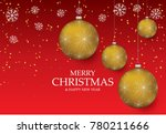 christmas light vector... | Shutterstock .eps vector #780211666