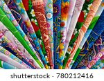 cotton fabric folded into... | Shutterstock . vector #780212416