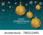 christmas light vector... | Shutterstock .eps vector #780212485