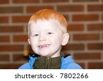 little boy smiling and laughing | Shutterstock . vector #7802266
