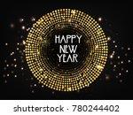 new year  2018  | Shutterstock .eps vector #780244402