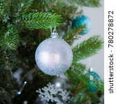 christmas decorations and toys... | Shutterstock . vector #780278872