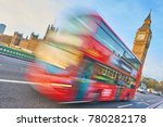big ben daytime and red double... | Shutterstock . vector #780282178
