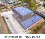 aerial view of solar panels... | Shutterstock . vector #780310765